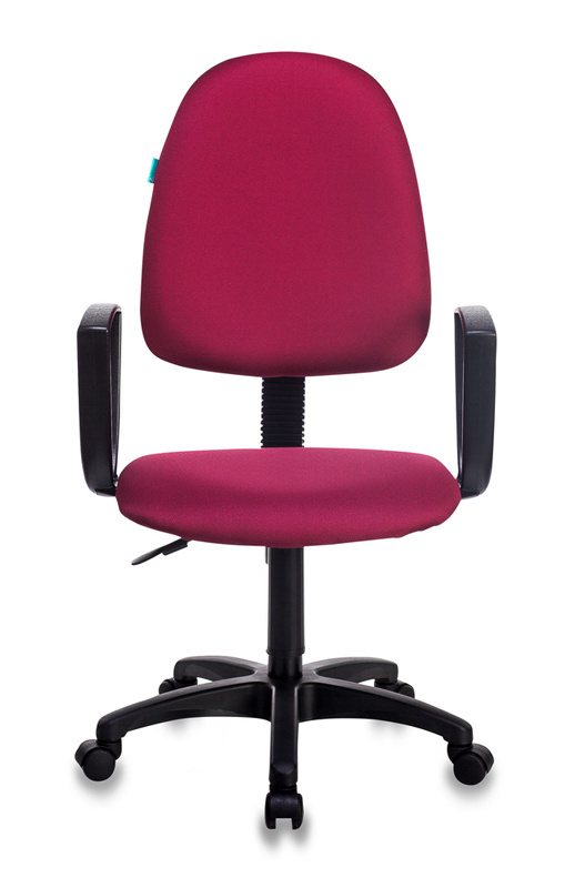 Кресло Бюрократ CH-1300N бордовый Престиж+ 15-11 крестовина пластик