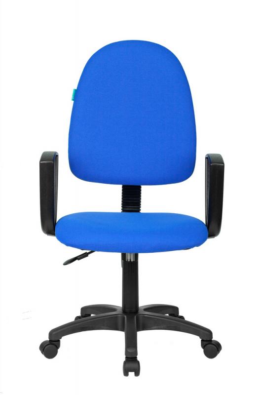 Кресло Бюрократ CH-1300N синий Престиж+ 15-10 крестовина пластик