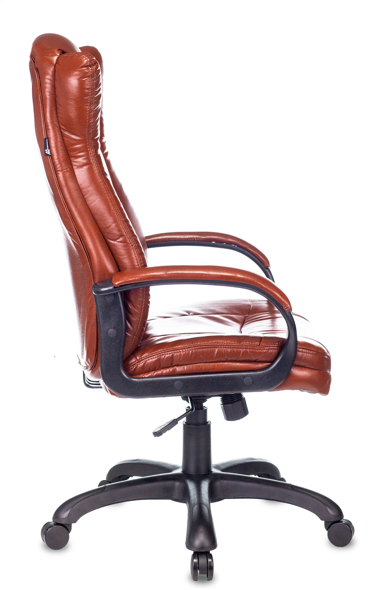 Кресло руководителя Бюрократ CH-879N коричневый Boroko-37 искусственная кожа крестовина пластик