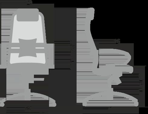 Кресло Samurai S-1.04 (Черный)