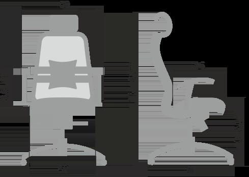 Кресло SAMURAI SL-3.04 Размеры