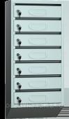 Узкий  почтовый ящик для подъезда ЯПСУ в ассортименте