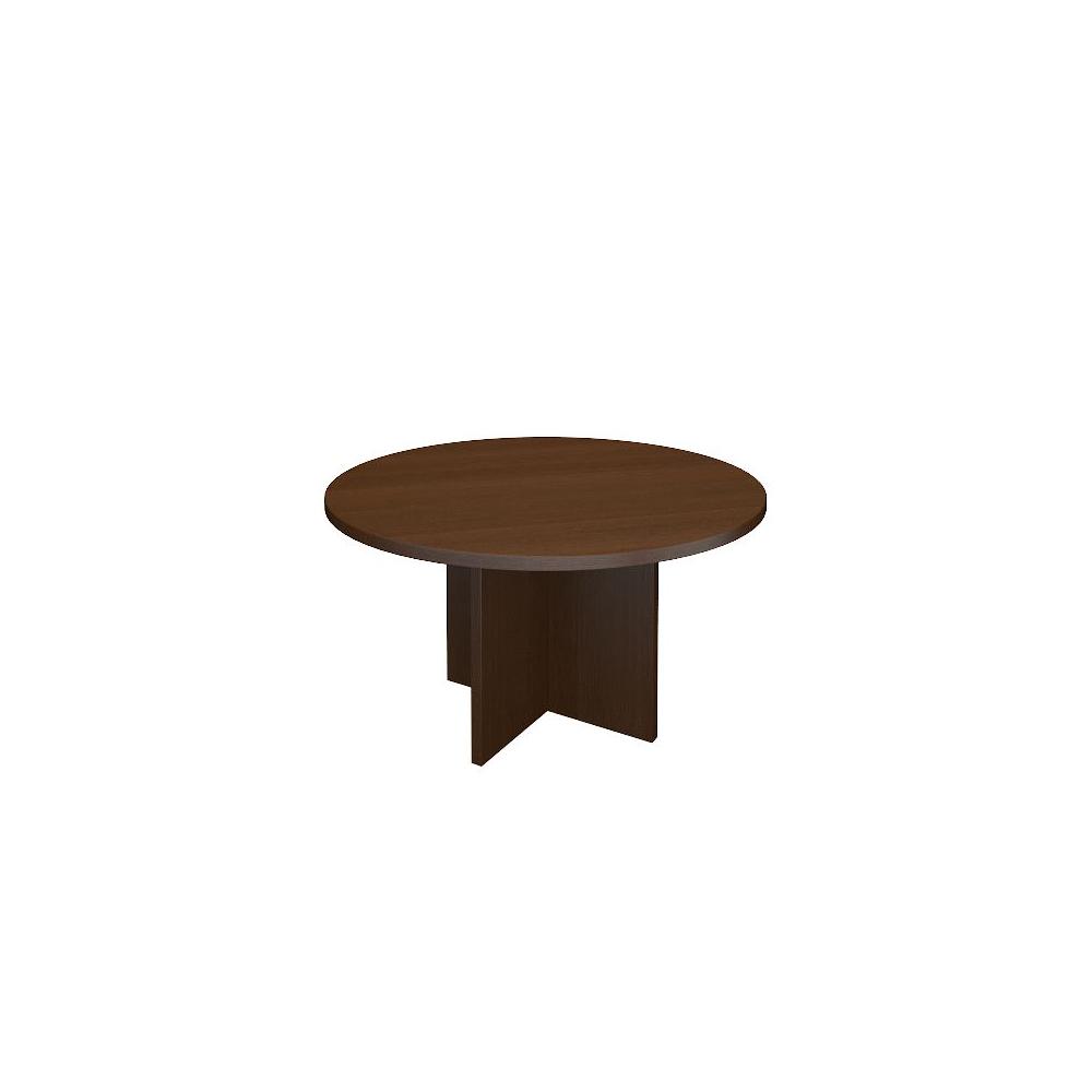 Стол журнальный А-039 (800х800х430).дуб венге