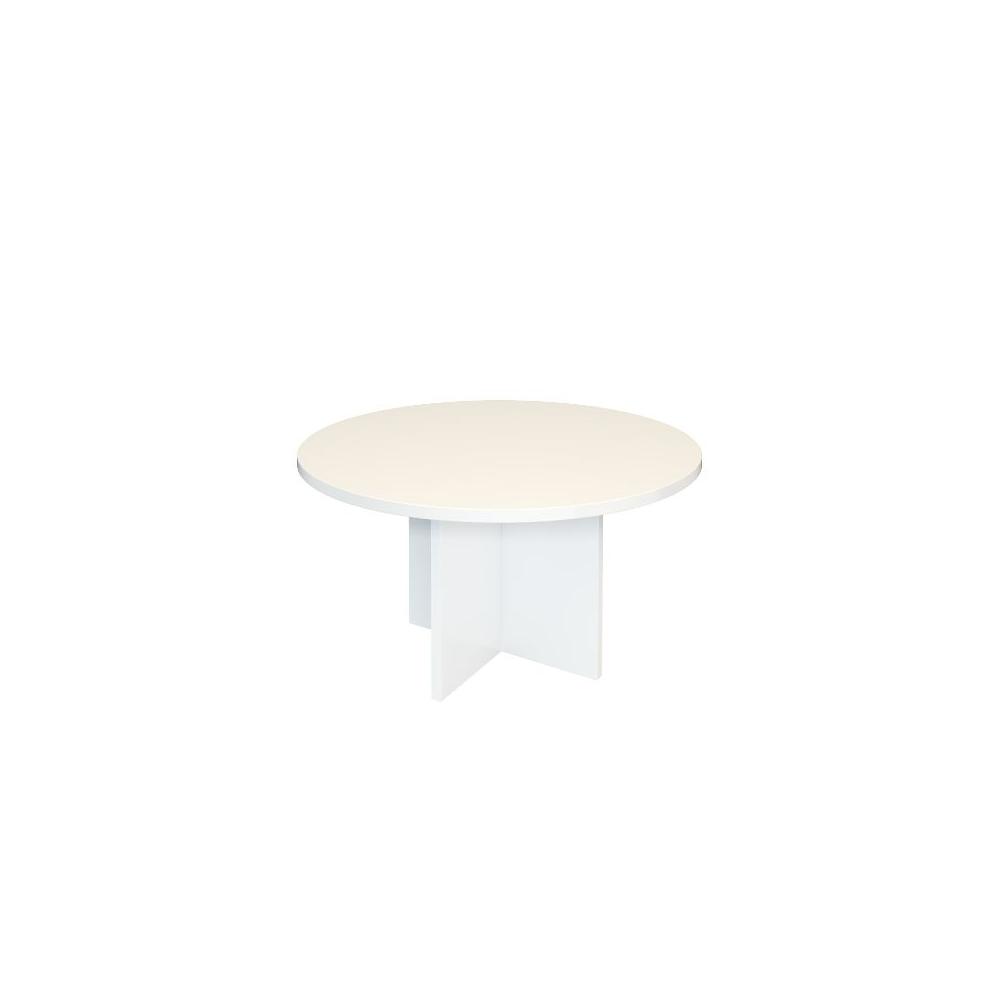Стол журнальный А-039 (800х800х430). белый