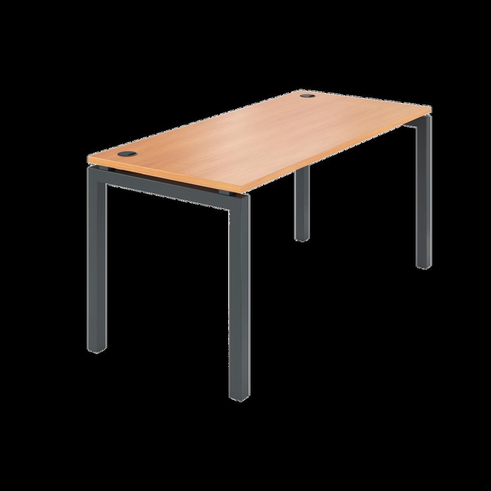 Стол на металлокаркасе АМ-004 (1600х730х760) груша арозо