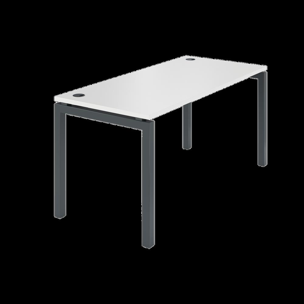Стол на металлокаркасе АМ-004 (1600х730х760) серый