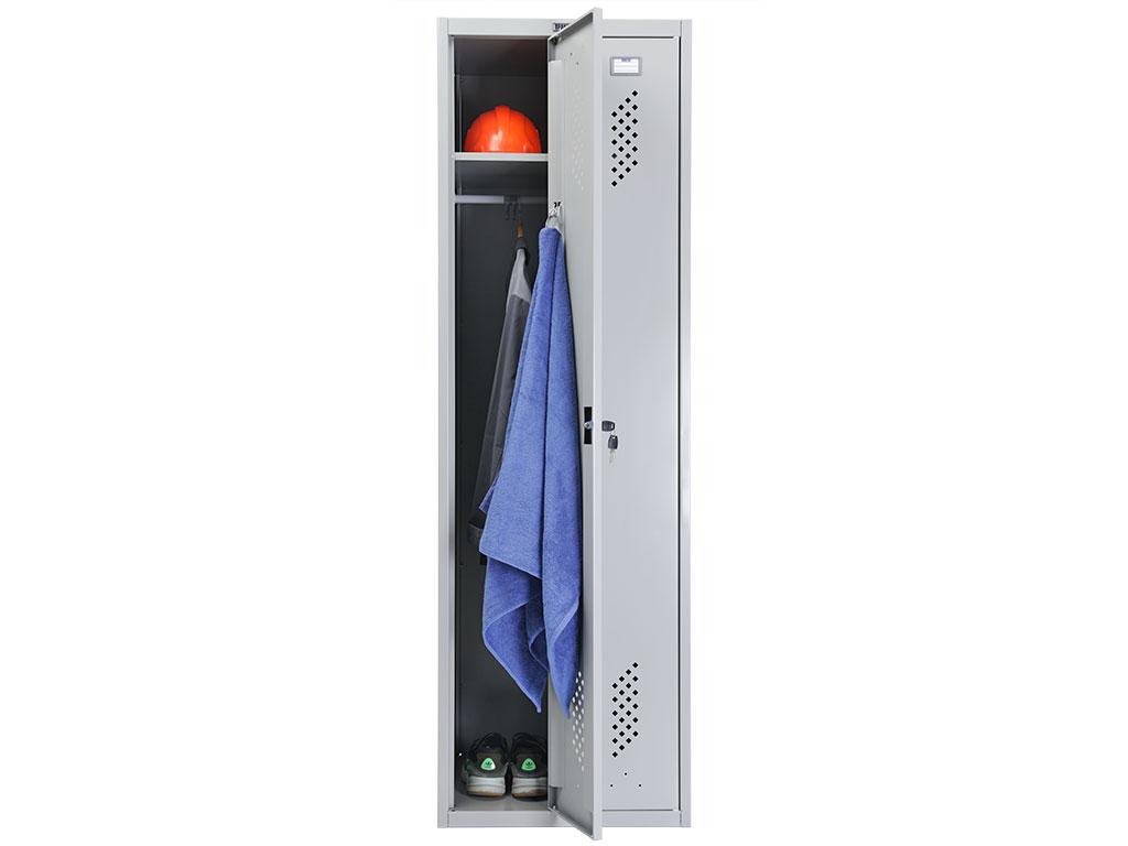 Шкаф для раздевалки металлический ПРАКТИК LS-21