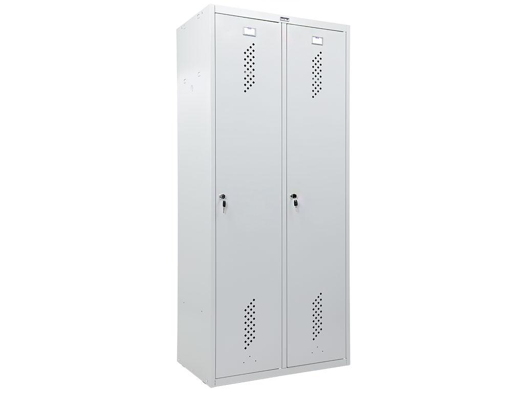 Шкаф для раздевалки металлический ПРАКТИК LS-21-80