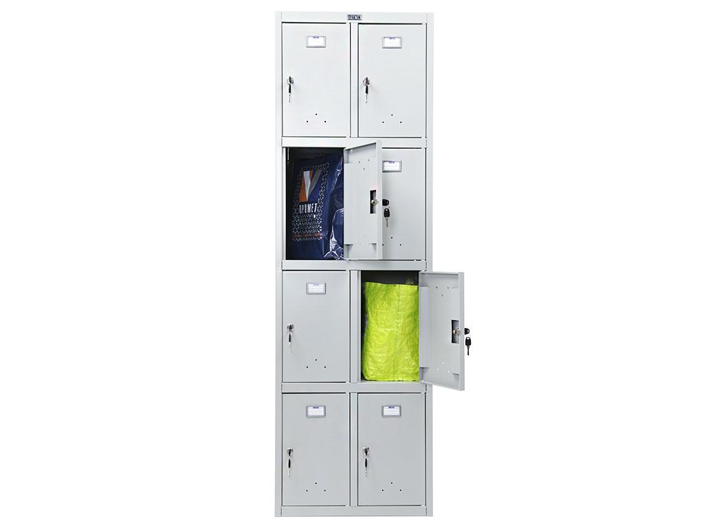 Шкаф металлический для сумок ПРАКТИК LS-24