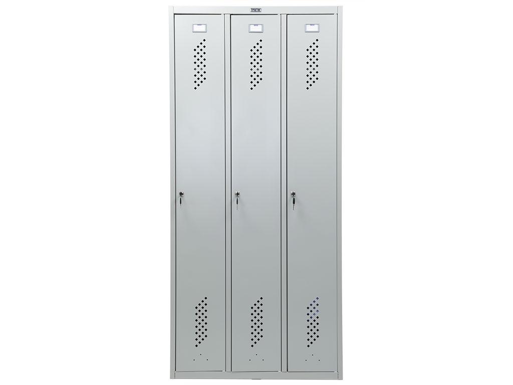 Шкаф для одежды металлический ПРАКТИК LS-31