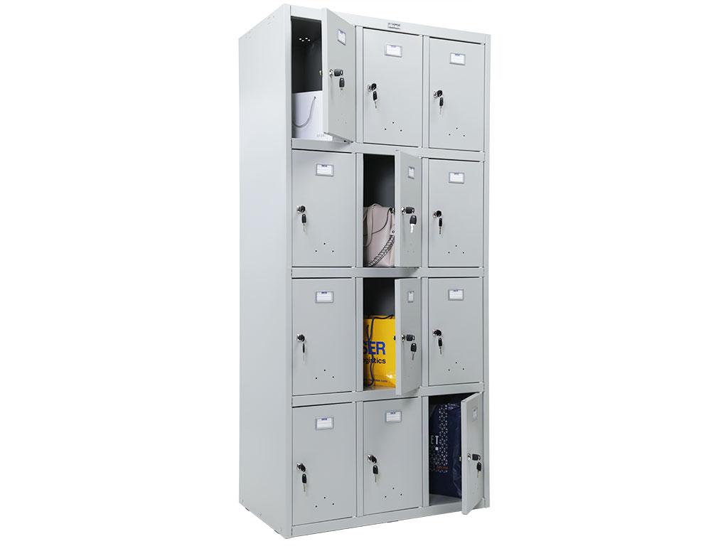 Шкаф для хранения сумок металлический  ПРАКТИК LS-34