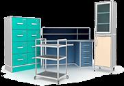 Медицинская и лабораторная мебель