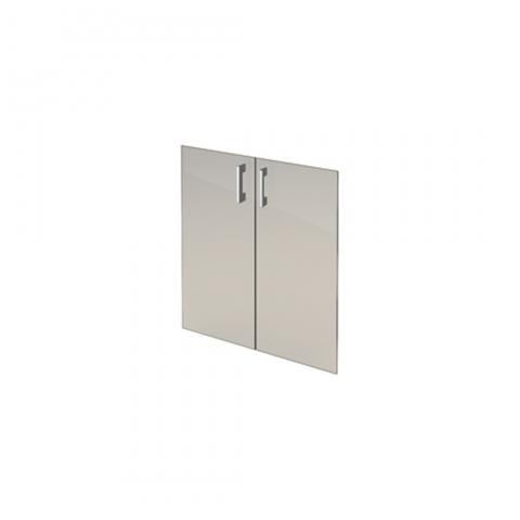 Комплект стеклянных тонированных дверей А-302.СФ (710х4х760)