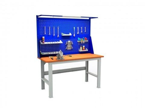 Верстак слесарный  Expert (№607) W160.F2/F2.021