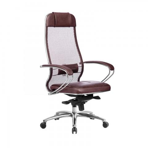 Кресло SAMURAI SL-1.04 (Темно-бордовый)