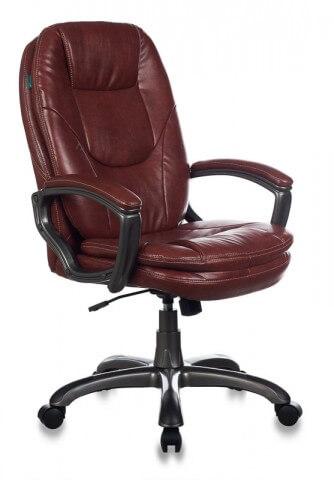 Кресло руководителя Бюрократ CH-868AXSN/BROWN коричневый искусственная кожа (пластик темно-серый)
