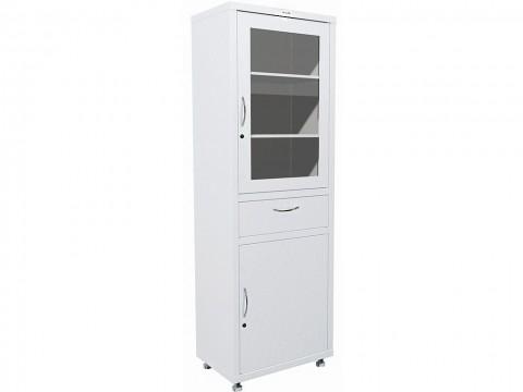 Медицинский шкаф металлический HILFE МД 1 1760 R-1