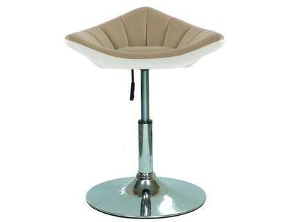 Полубарный стул Barneo N-44 Дана на дисковом основании