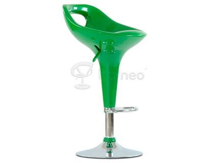 Барный стул Barneo N-7 Malibu зеленый глянец