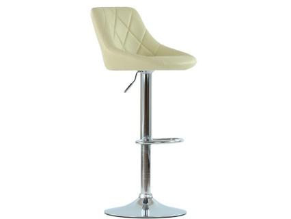 Барный стул Barneo N-83 Comfort бежевая кожа