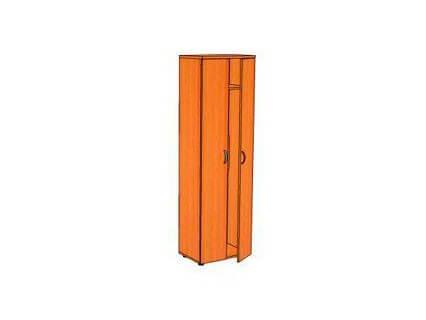 Шкаф узкий для одежды КОНТИНЕНТ ЛФ238