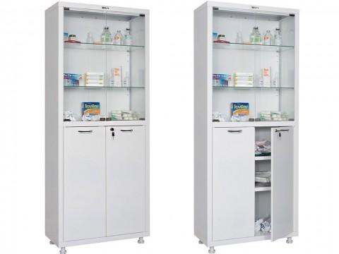 Шкаф медицинский для медикаментов HILFE МД 2 1670/SG