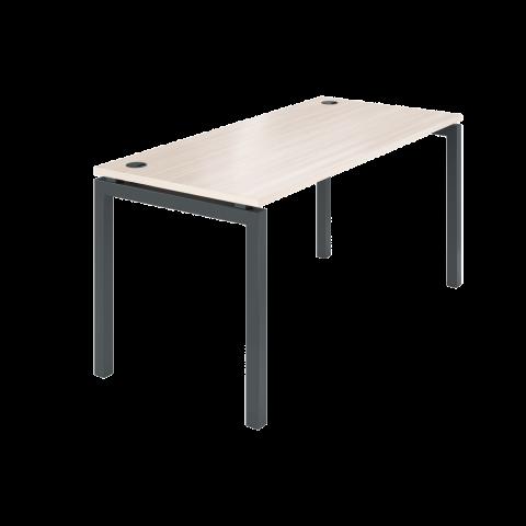 Стол на металлокаркасе АМ-004 (1600х730х760) ясень шимо