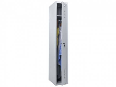 Шкаф для раздевалки металлический ПРАКТИК LS-01