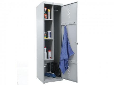 Шкаф металлический для уборочного инвентаря ПРАКТИК LS 11-50