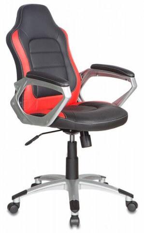 Кресло руководителя Бюрократ CH-825S/Black+Rd