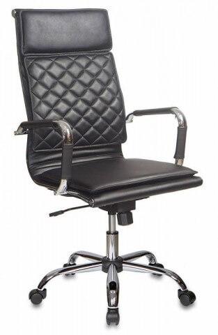 Кресло руководителя Бюрократ CH-991/BLACK искусственная кожа
