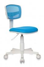 Кресло для офиса CH-299/BL/15-10 спинка сетка без подлокотников