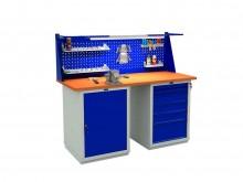 Верстак слесарный Expert (№605) W160.WS1/WS6.011
