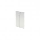 Комплект стеклянных прозрачных дверей А-304.СФ (710х4х1150)