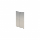 Комплект стеклянных тонированных дверей А-304.СФ (710х4х1150)
