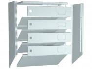 Металлический почтовый ящик ПРАКТИК PB-4 (NEW)