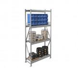 Стеллаж металлический MS PRO 250/900X50/(4 яруса)