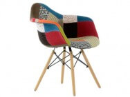 Кресло Barneo N-14 Patchwork Eames style, мультиколор
