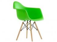 Кресло Barneo N-14 WoodMold Eames style, салатовый