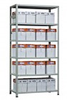 Металлический стеллаж MS Strong 3100*1000*400 мм ( 6 полок)