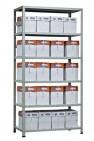 Стеллаж  металлический  Hard-1000 MS 2200х1000х300 6- полок