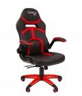 Кресло для геймеров  CHAIRMAN GAME 18 (красный)