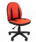 Кресло детское CHAIRMAN KIDS 122  BLACK (Красный)