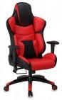 Кресло для руководителя Бюрократ CH-823AXSN, BLACK черный искусственная кожа крестовина металл