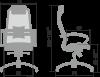 Кресло SAMURAI SL-1.04 размеры